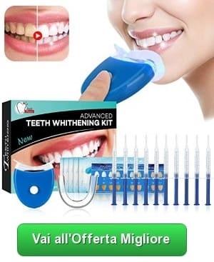 Isuda kit sbiancante denti led